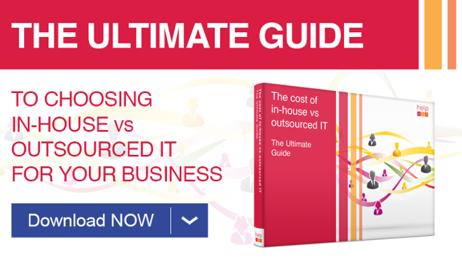 The cost of in-house vis outsourced IT for your business